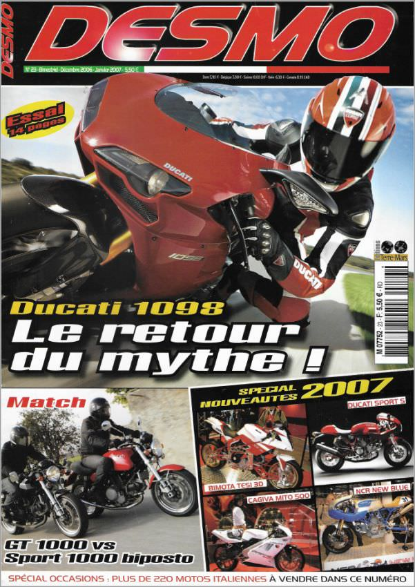 Desmo Magazine 23