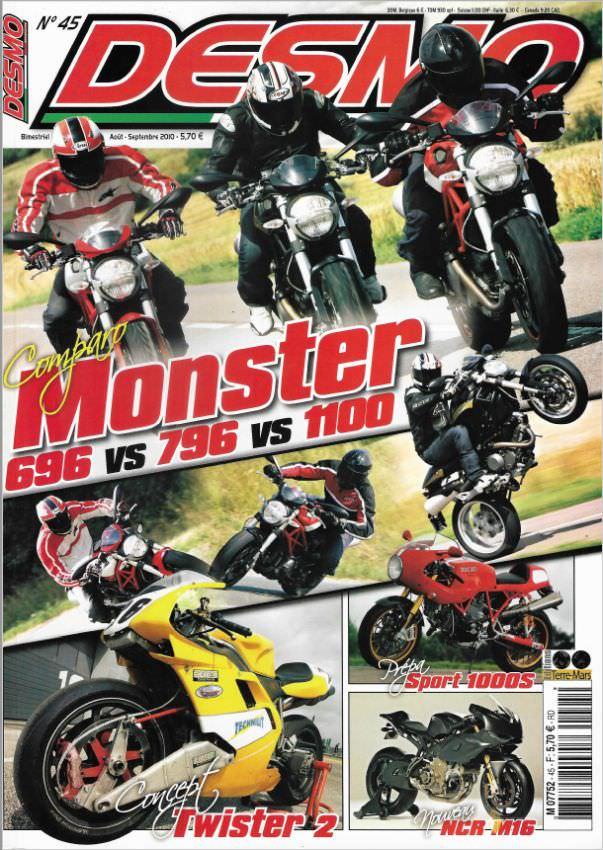 Desmo Magazine 45