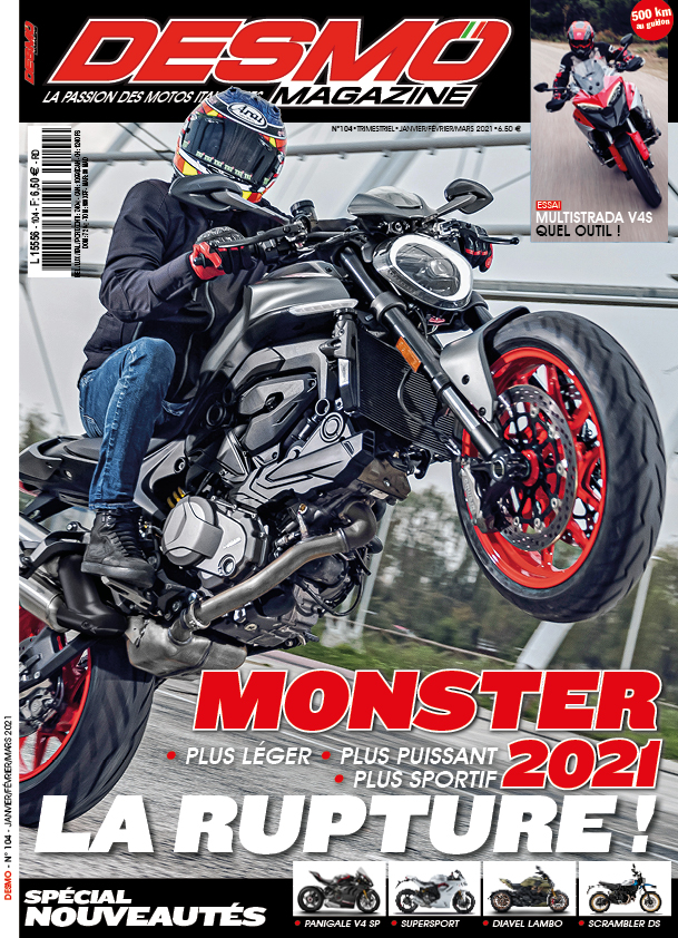 Couverture Desmo Magazine 104