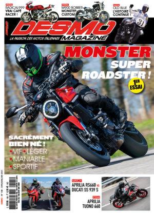 Couverture Desmo Magazine 105 (avril-mai-juin-2021)